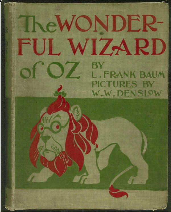 Wizard of Oz book cover