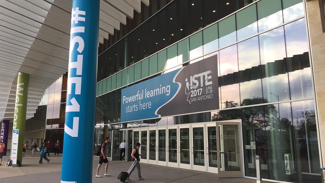 ISTE 17 entrance