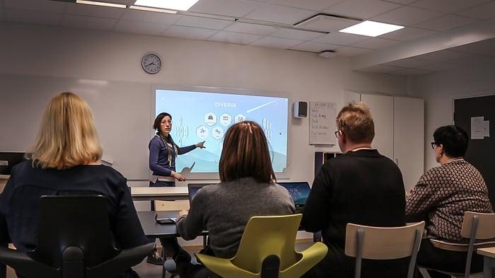 Balder school Snowflake MultiTeach Training