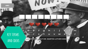 Dr. Martin Luther King Jr. _ Important Words