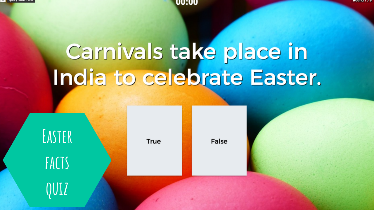 Easter facts Quiz