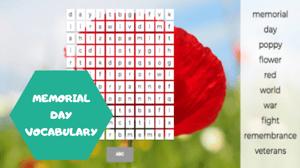 Memorial Day vocabulary