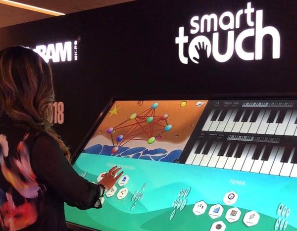 MultiTeach on SmartTouch