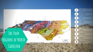 North Carolina 4 regions