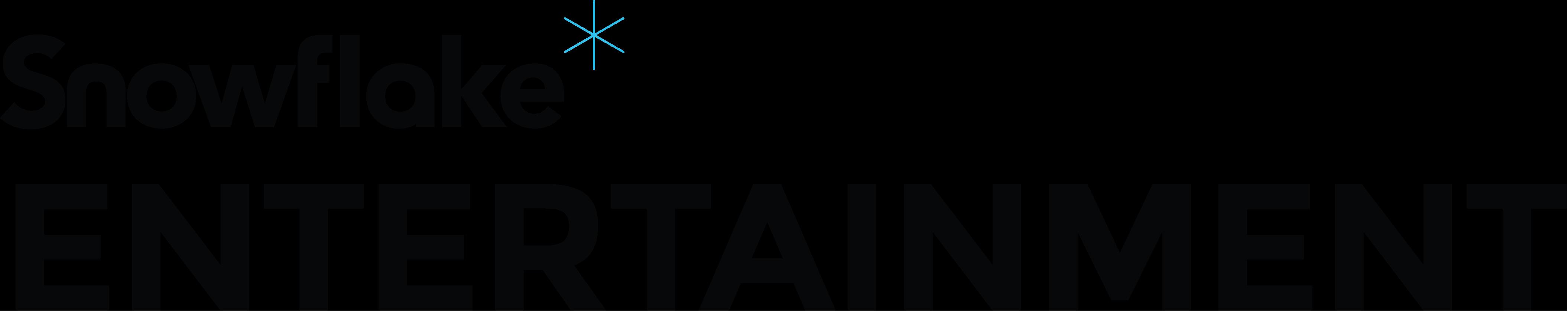 Snowflake Entertainment Logo