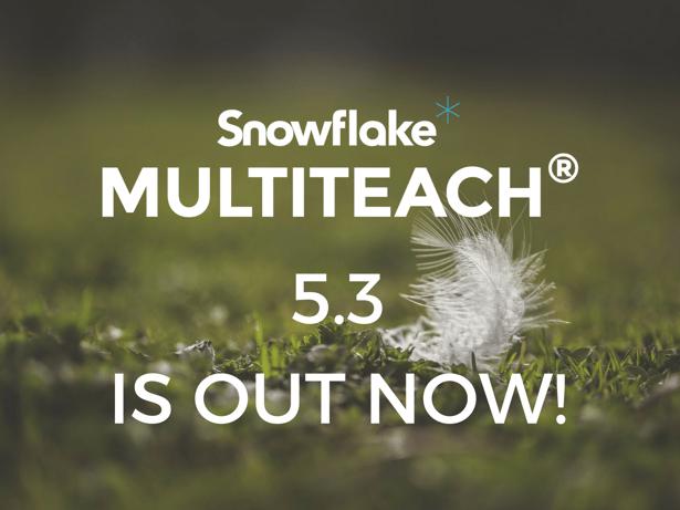 Snowflake MultiTeach 5.3
