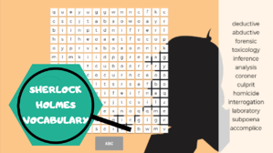 Sherlock Holmes vocabulary