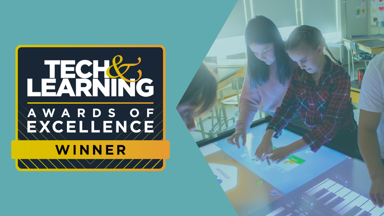 Tech and learning Winner