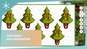 Two-digit-multiplication---Christmas-edition