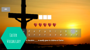 easter vocabulary-1