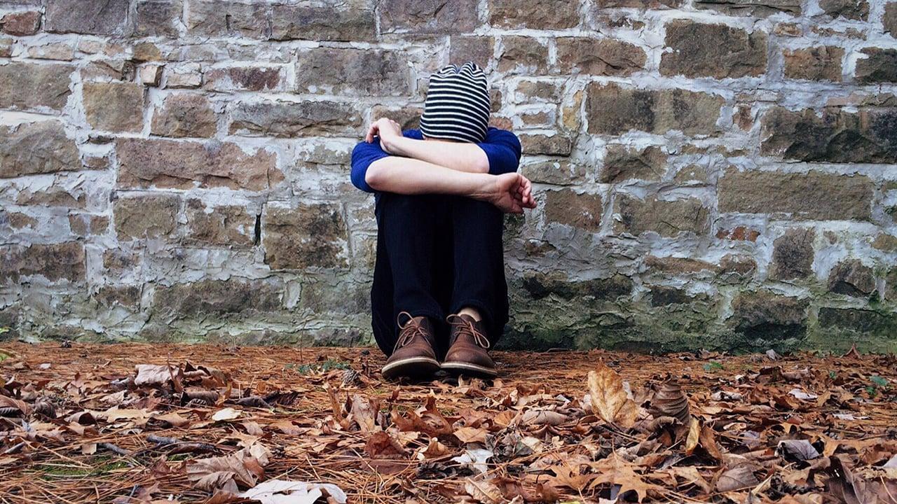 sad person