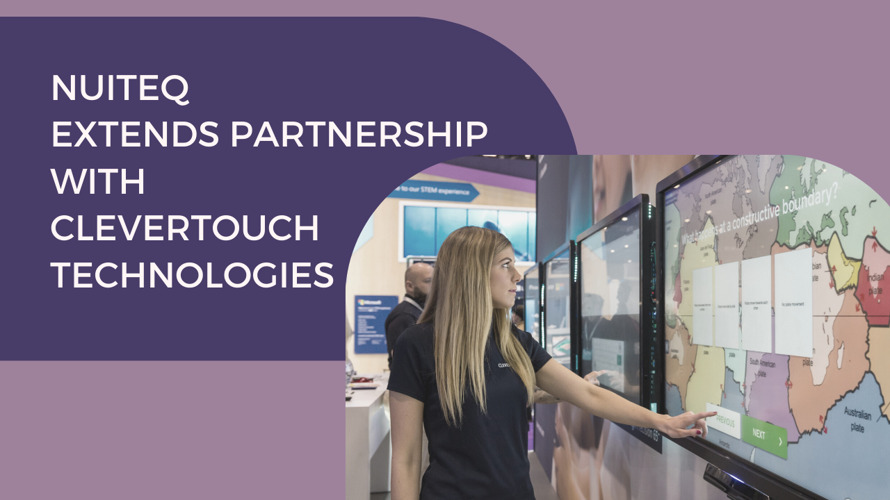 NUITEQ Clevertouch partnership