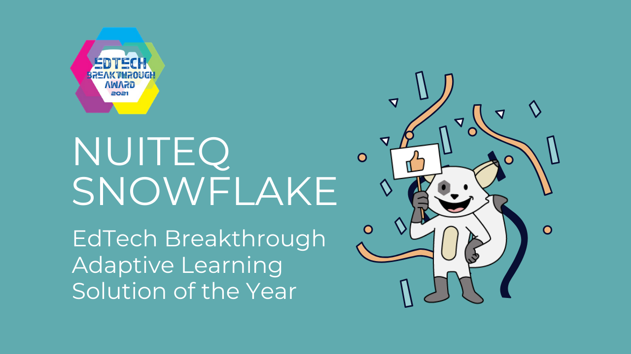 Adaptive Solution of the Year EdTech Breakthrough