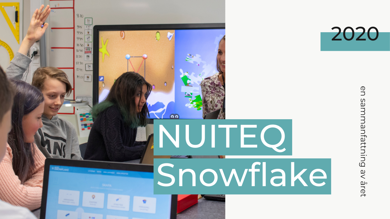 NUITEQ Snowflake distansundervisning