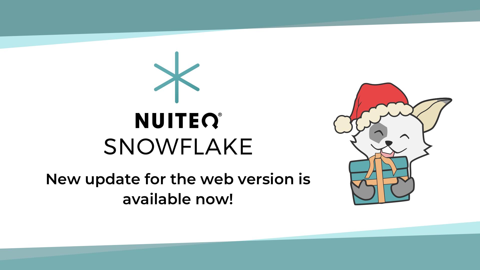 Release Snowflake online
