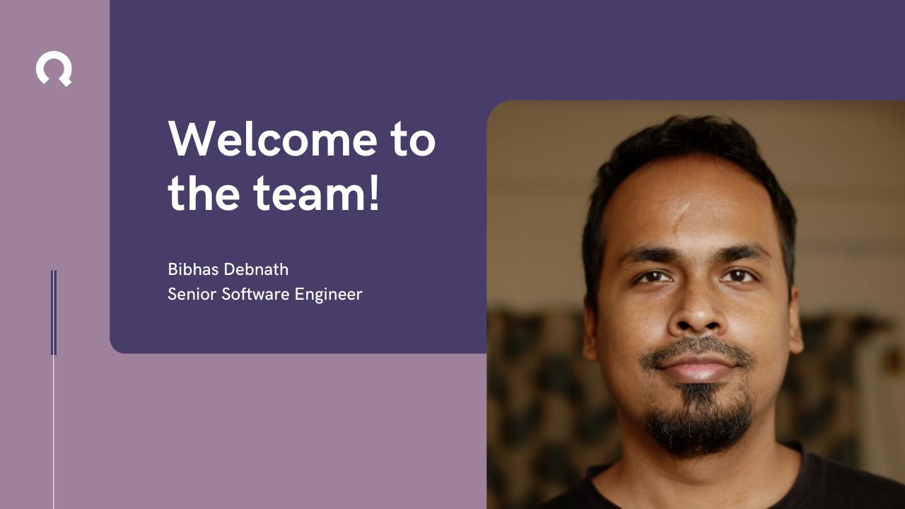 New Senior software developer