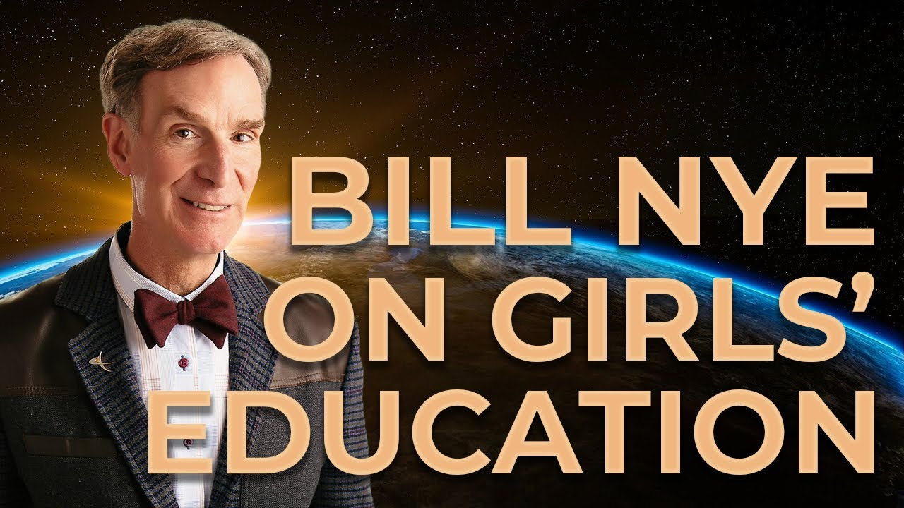 bill nye on girls education